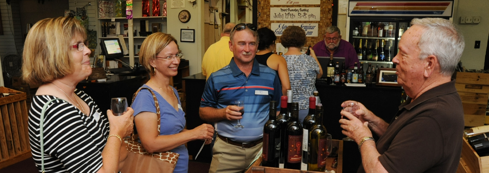 First Friday (… Thursday actually) Tasting-Wine World-July 3