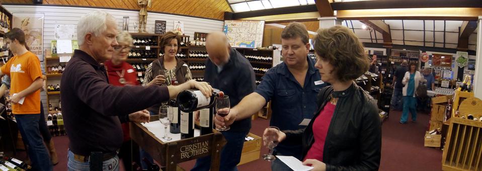 First Friday Tasting-Wine World-Dec. 5