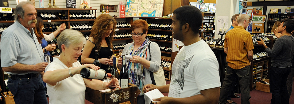 First Friday Tasting-Wine World-Apr. 3