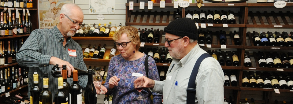 Third Thursday Tasting-Wine World-Mar. 15