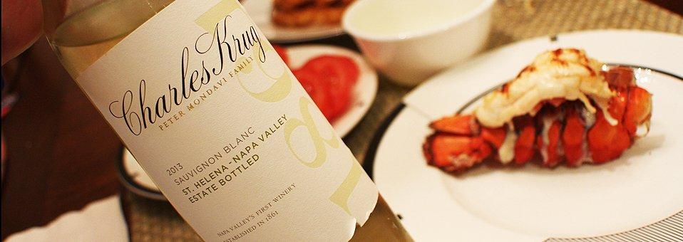 Krug's Food-Friendly White Wines Crisp, Clean, Balanced