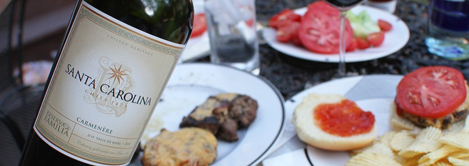 Santa Carolina Carmenére Perfect For Summer Grilling