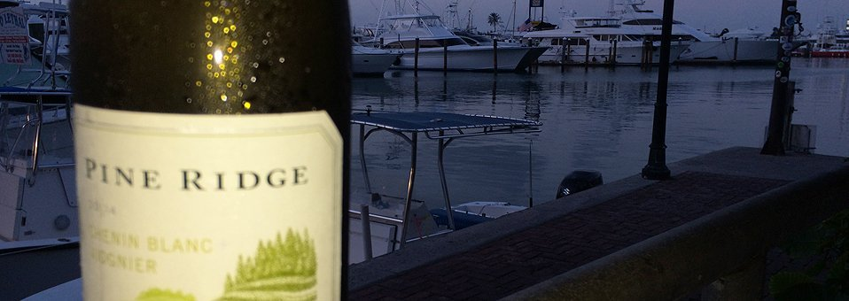 Popular Pine Ridge Chenin Blanc + Viognier Perfect For Florida Keys
