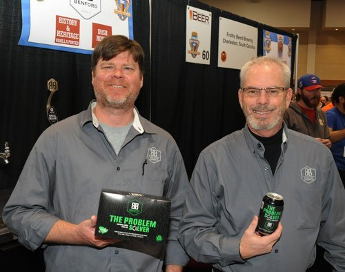 Bryan O'Neal and David Lail with their Problem Solver