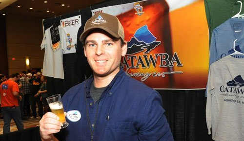 Jim Birch, Director of Wholesale Operations for Catawba Brewing.