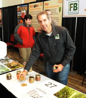 Dan Grigley and his farm grown products