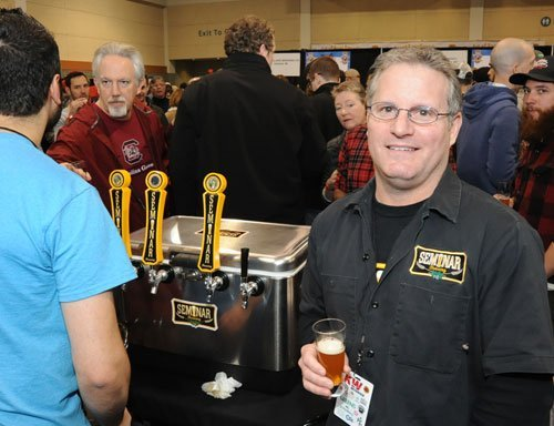 Bryan Fisher, President of Seminar Brewing