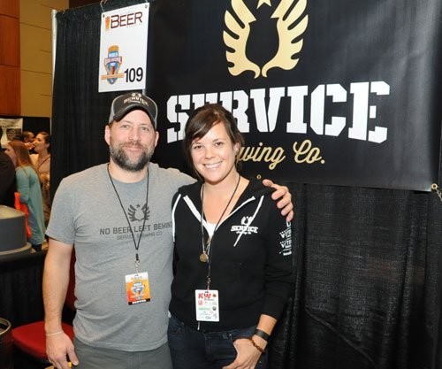 Kevin Ryan and Meredith Sutton of Service Brewing