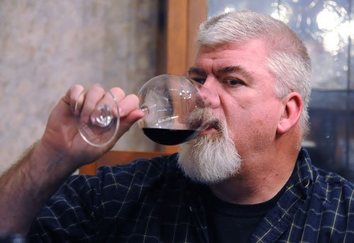Mark loves Oregon pinot noir.