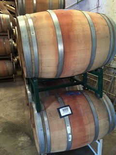 Some of the wine barrels for sale
