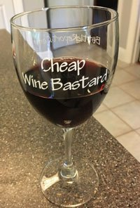 I thought it appropriate to use my BottleReport.com wine glass