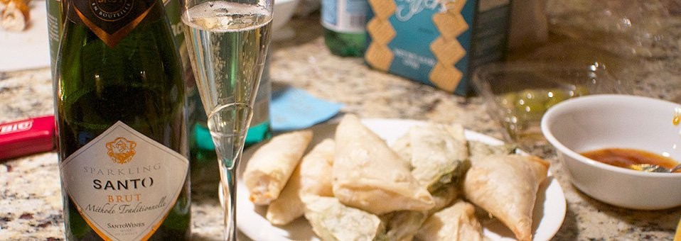 Sparkling Wine From Greece Helps Make Holiday Celebrations Special