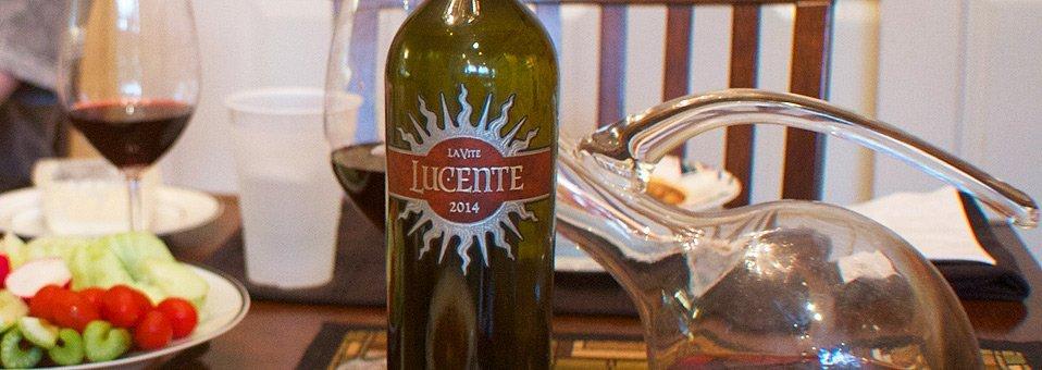 Second Wine Lucente Has First Class Taste