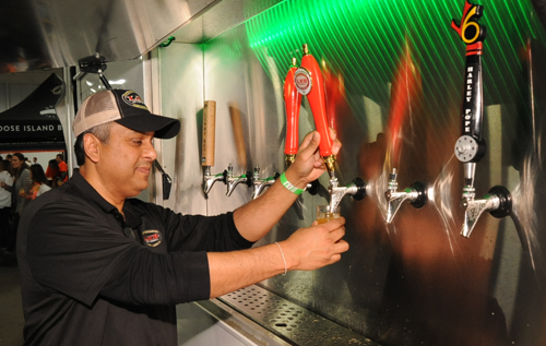 "Nilanjan ""Pap"" Datta, of Left Nut Brewing, Gainesville GA"