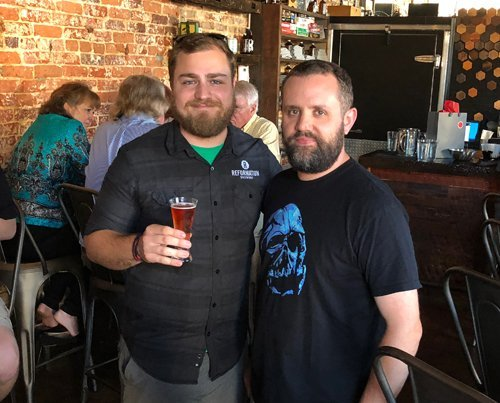 Jonathan Rizzi and Eric Kinlaw
