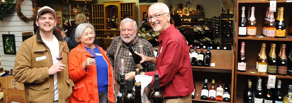 Third Thursday Tasting-Wine World-Dec. 20