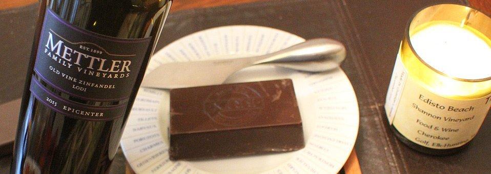 Mettler Zin + BRIX Chocolate = Great Romance