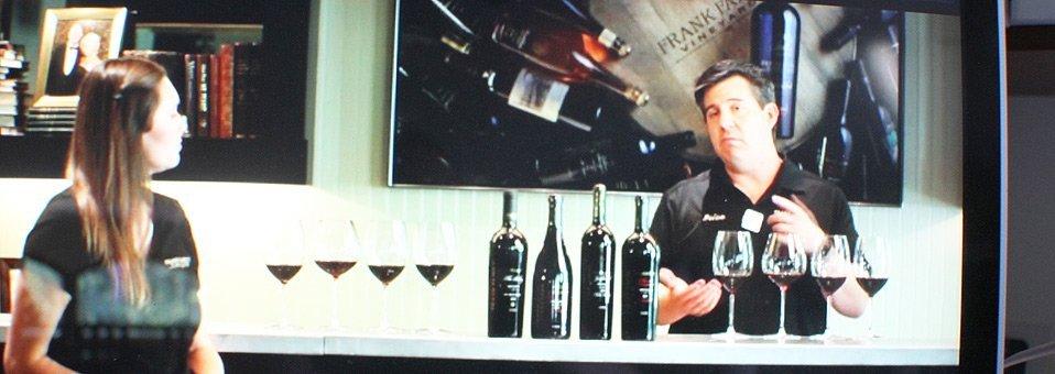 Frank Family Staff Bring Fun, Education To Virtual Wine Tasting
